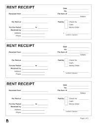 Bill Formats In Word Template Template Receipt Word Rent Receipt Template Pdf
