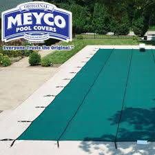 safety pool covers. Meyco 12 Year Mesh MeycoLite Safety Pool Cover, 16x30 Ft Rectangle, Green - Supplies Superstore Covers A