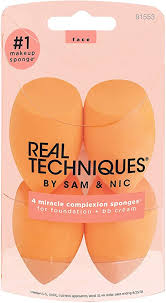 <b>Real Techniques</b> 4pk miracle complexion sponges: Amazon.ca ...