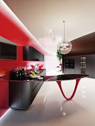Red And Black Kitchen Sensational Limited Edition Kitchen Inspired By The World Of
