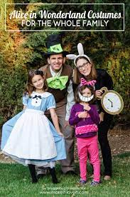 alice in wonderland costumes for the
