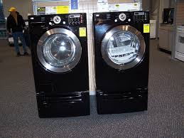 black washer and dryer. Pretty Washer And Dryer Set At The New Downtown Best Buy Black
