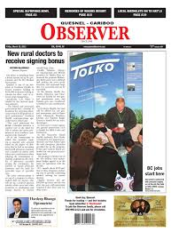 Quesnel Cariboo Observer March 15 2013 By Black Press Issuu