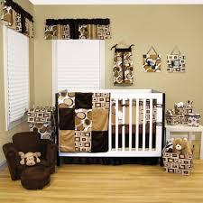 attractive unisex nursery room design inspiration presenting