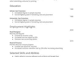 Simple Format For Resume How To Write A Simple Resume Format Simple ...