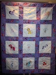 My Little Pony Machine Embroidered Lap Quilt Purple | Lap quilts ... & My Little Pony Machine Embroidered Lap Quilt Purple Adamdwight.com