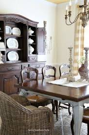 kubu and antique french dining chairs for a new look in a french country style dining