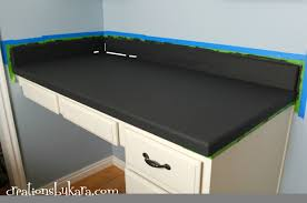 Can I Paint Countertops Diy Faux Granite Countertops With Giani