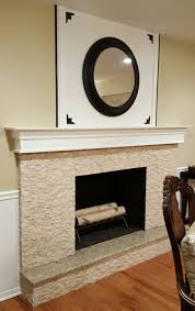 Diy Fireplace Mantel Diy Fireplace Mantel In A Traditional Living Space In 5 Easy Steps