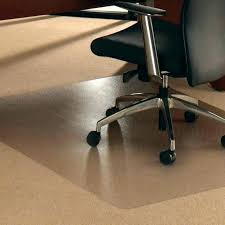 plastic mat desk chair