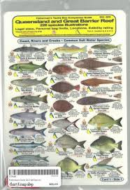 Australian Reef Fish Species Chart Fishermans Tackle Boc Companion Guide Qld The Great Barrier Reef