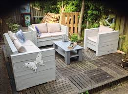outdoor furniture made with pallets. Very Cool Pallet Outdoor Furniture Design Of Patio Made Out Pallets With F