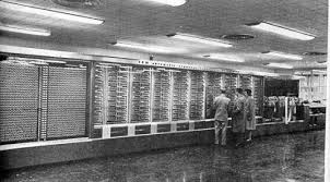 Самый первый в мире компьютер Первый в мире компьютер Марк 1 центр