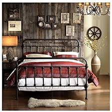 iron bed frames wrought iron bed frame dark - Design Ideas 2019
