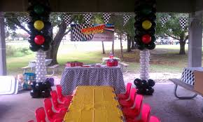 Cars Table Decorations Dreamark Events Blog Cars Theme Decor Park Pavilion
