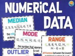 Mean Median Mode Anchor Chart Math Data Posters Mean Median Mode Range Frequency Outlier