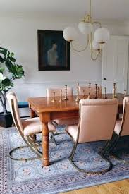 hollywood regency meets farmhouse dining room interior design mixing vine with new interior