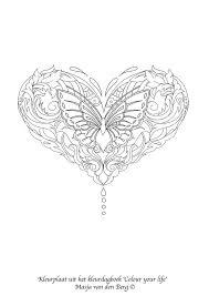 Valentijns Kleurplaat Voor Alle Masja Van Den Berg