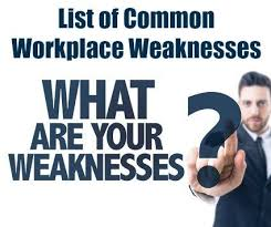 Interview Questions Weaknesses