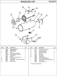 mr heater mh35fa parts parts list and diagrams