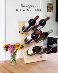 diy wine rack. Delighful Diy The Easiest DIY Wine Rack Throughout Diy Wine Rack