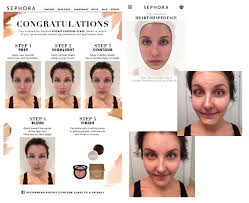 face map my beauty sephora launch pocket contour pilot what makeup do you use