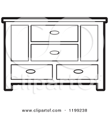 dresser clipart black and white. cabinet 20clipart #113 dresser clipart black and white