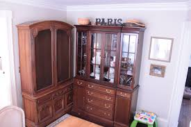 Living Room China Cabinet Dining Room Modern Arched China Cabinets And Hutches Combine With