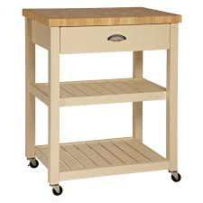 John Lewis Kitchen Furniture Buy John Lewis Cotswold Butchers Trolley Cream John Lewis