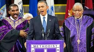 Obama Sings Amazing Grace - YouTube