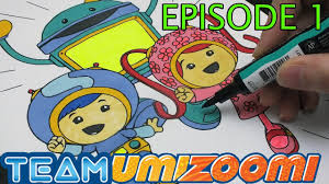Team Umizoomi Coloring Page Eposide 9
