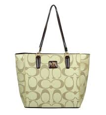 Discount Coach Madison East West Small Apricot Totes Eak Outlet sKbwN