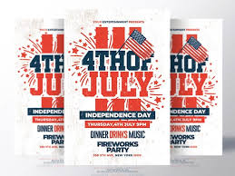 4th Of July Flyer Template By Rome Creation Dribbble Dribbble