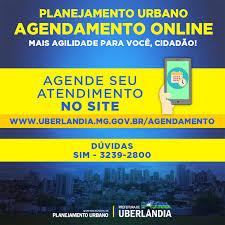 Novo sistema de agendamento online para... - Prefeitura de Uberlândia
