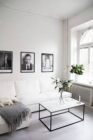 Best All White Room Ideas White Living Room White Black Floral Accents