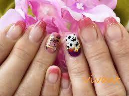 春に一番人気ピンクカラーを使ったネイルデザイン 四国香川県の