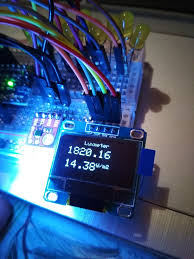 Arduino Light Meter Photography Max44009 Light Sensor With Oled 7 Steps Instructables