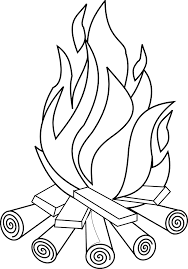 Small Picture Fire Coloring Pages Coloring Pages Of Fire Logs Fire