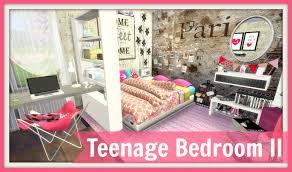 Sims Bedroom Sims 4 Teenage Bedroom Ii Dinha