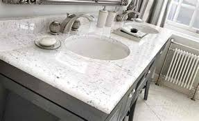 image of refinish cultured marble countertops
