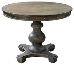 solid pine 42 distressed round table