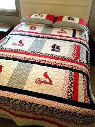 st louis cardinals bedding st cardinals bedding like this item st cardinals timeline sheet set st