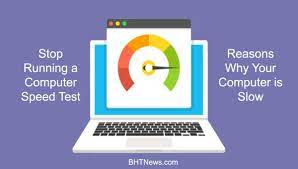 Stop Running Computer Speed Test
