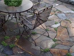 flagstone patio cost. Interesting Patio Irregular Variegated Flagstone On Flagstone Patio Cost A