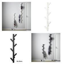 Tjusig Coat Rack Ikea TJUSIG Wall Hanger Hat Rack Coat Rack BLACK WHITE Tree Branch 14