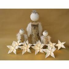 Lichterkette Weihnachtsstern Weiß Weihnachtsdeko Girlande