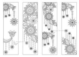 Moon Mandala Design 4 Printable Mandala Moon Coloring Bookmarks 18