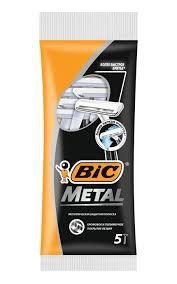 <b>Бритвенный станок BIC Metal</b> пауч   Watsons