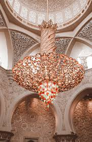 inside this magical mosque you ll find the world s largest chandelier made with swarovski crystals and the world s biggest carpet which really impresses
