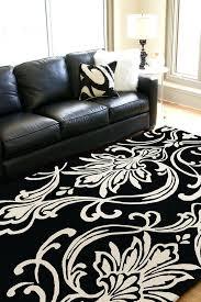 black and white modern rug black and white modern area rugs